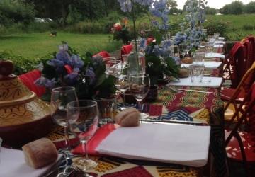 6 Gangen diner Afrikaans thema GEBRUIKEN VOOR PRIVE DINER